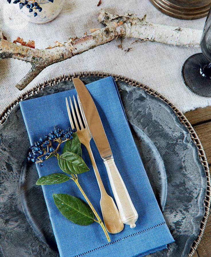 A rustic tabletop display {PHOTO: Virginia Macdonald}
