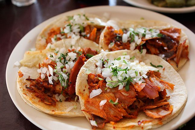 Al pastor tacos... kind of lots of ingredients but Paul really likes these so I might try it sometime