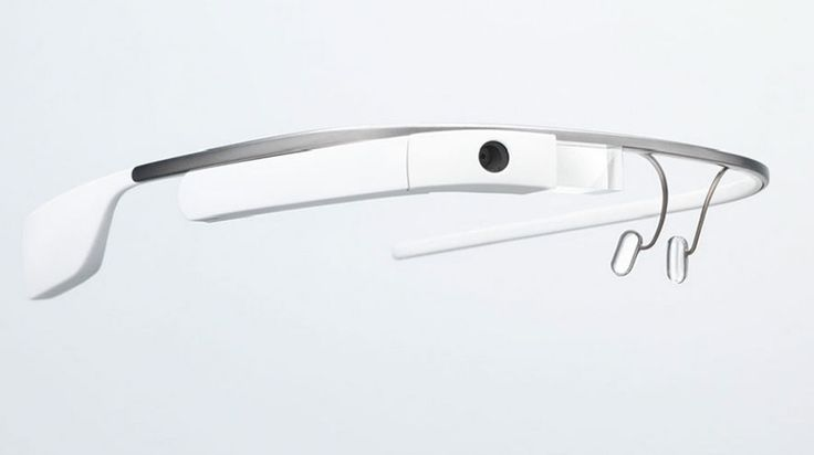 The first trial of Google glass