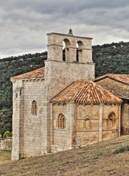 Ábside de San Pantaleón de Losa - Valle de Losa, Las Merindades, Burgos