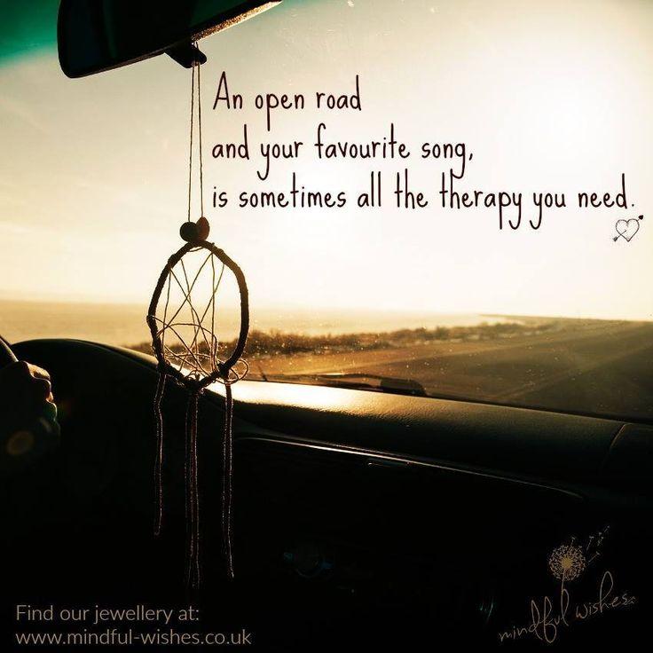 An open road...