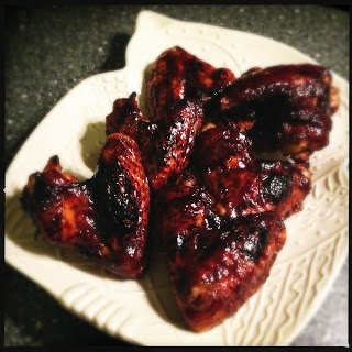 Francesca Kookt!: Foodblogevent: Chicken wings met gecarameliseerde balsamico marinade