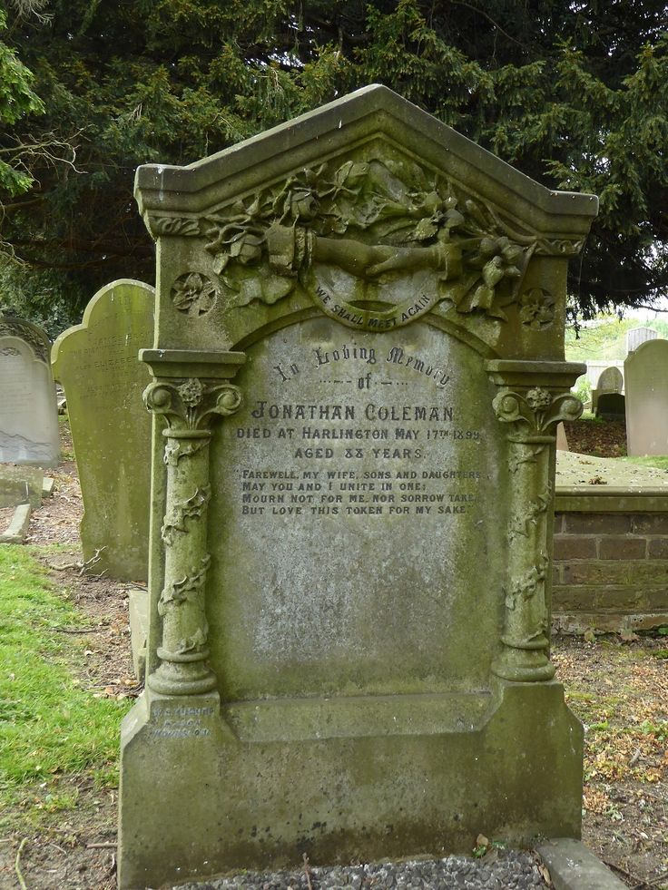 In Loving Memory of, Harlington.  'We Shall Meet Again'  St Peter and St Paul, Harlington, near Heathrow, London Borough of Hillingdon.