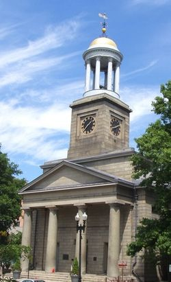 First Parish Church- John and Abigail Adams Tomb