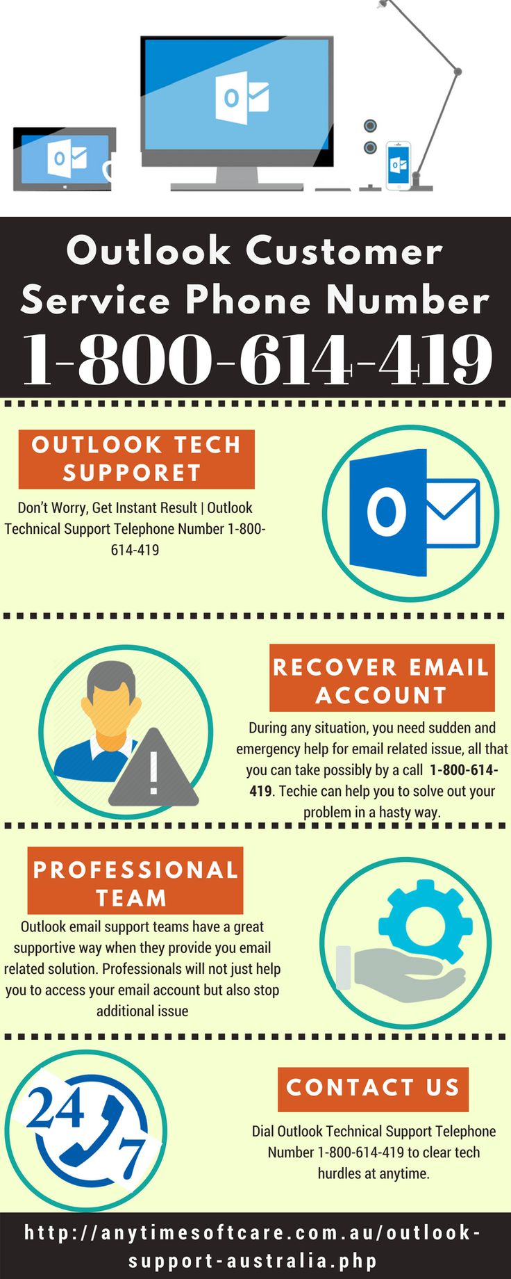 Outlook Customer Service Phone Number 1800614419 Get