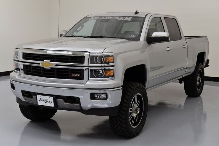 silver silverado lifted images - photo #35