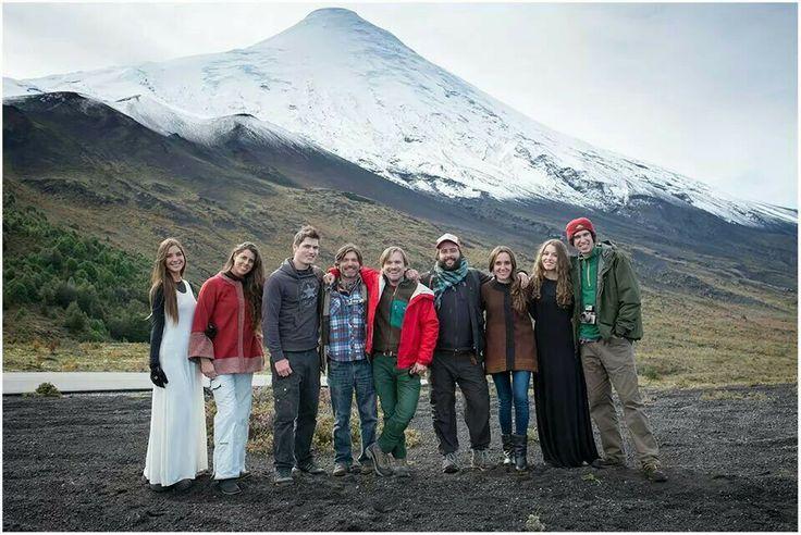 Volcán Osorno Todo el equipo de la producción fotográfica para TIENDA LA MURTA.  Gracias por mil!!