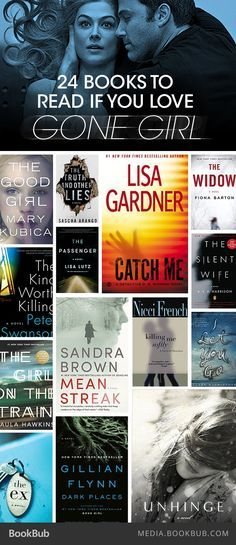 If you love Gone Girl, check out these 24 book recommendations.