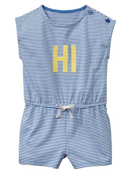 Cutest little Summer romper (on sale!)