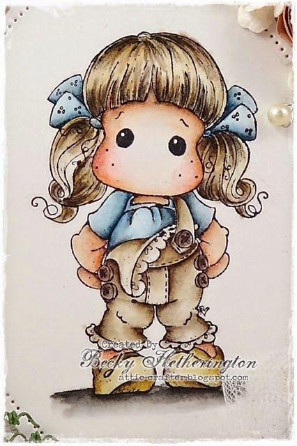 Cards By Becky: Tilda