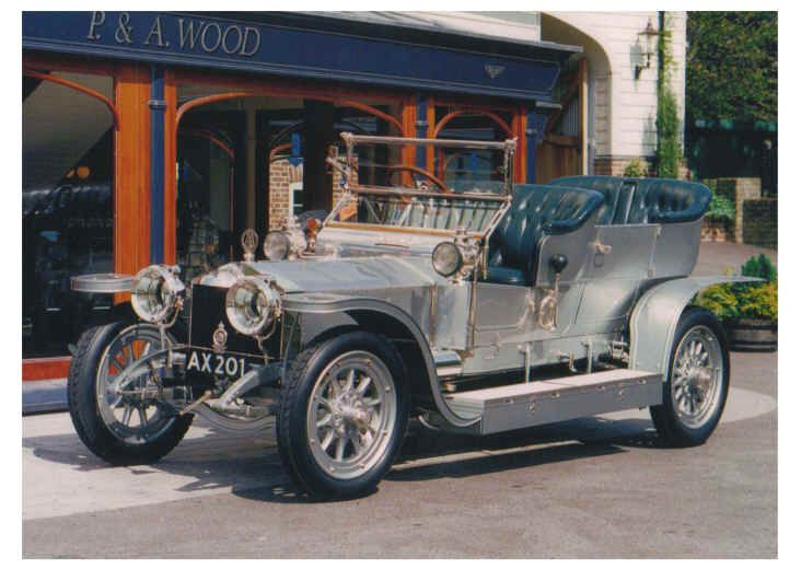The 1906 Silver Ghost One Of Longest Running Production Vehicles Rolls Royce
