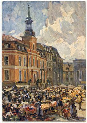Königsberg (Pr.), Altstädtischer Markt, Gemälde