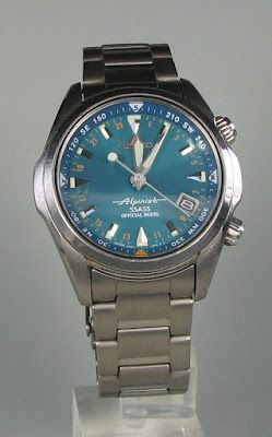 SSASS Special Edition Seiko Alpinist. Beautiful blue-green dial.
