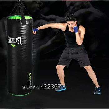 2015 Sale Sacos De Boxeo for MMA Boxing Bag New 100cm Training Fitness Mma Kick Fight Sand Punch Punching Sandbag Bag(empty)