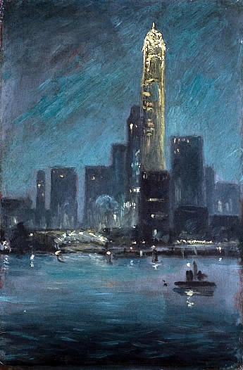 Charles Vezin (1858-1942)  Evening Skyline from the Water  Florence Griswold MuseumFlorence Griswold, Artsy Things, American Impressionism, Charles Vezin, Artsy Fartsy, Griswold Museums, Awesome Art, Vezin 1858 1942, Lyme Artists