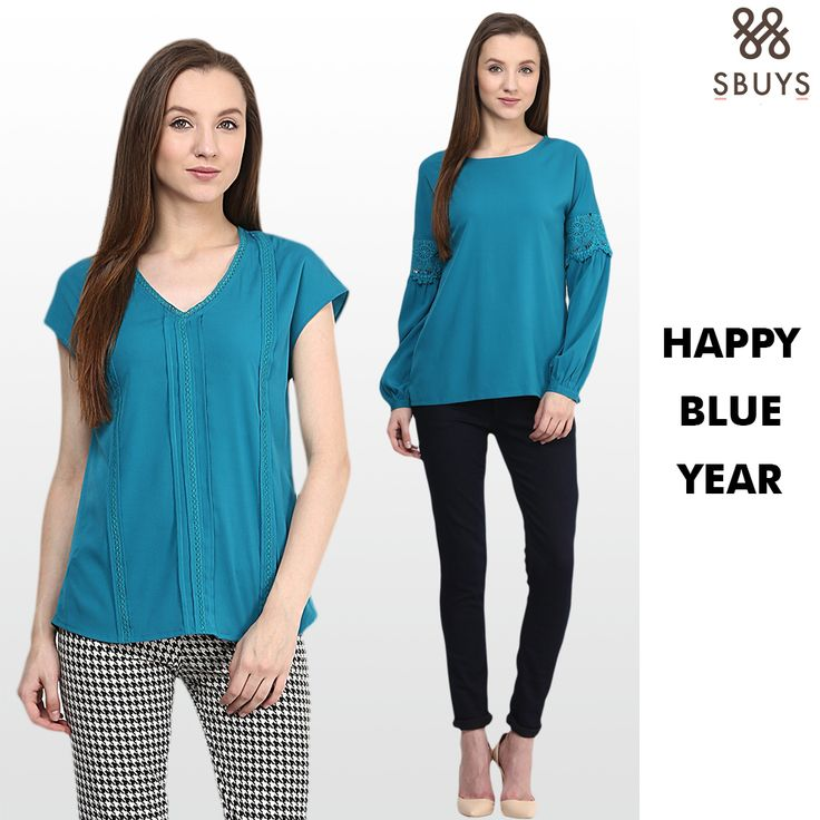Happy Blue Year to you too! I could see the blue trend happening this year, Shop the latest, stylish collection of Blue Dress trends on www.sbuys.in #sbuys #happyblueyear #bluedresstrends #womenwear #bluefashiondresses #sbuysbluedress