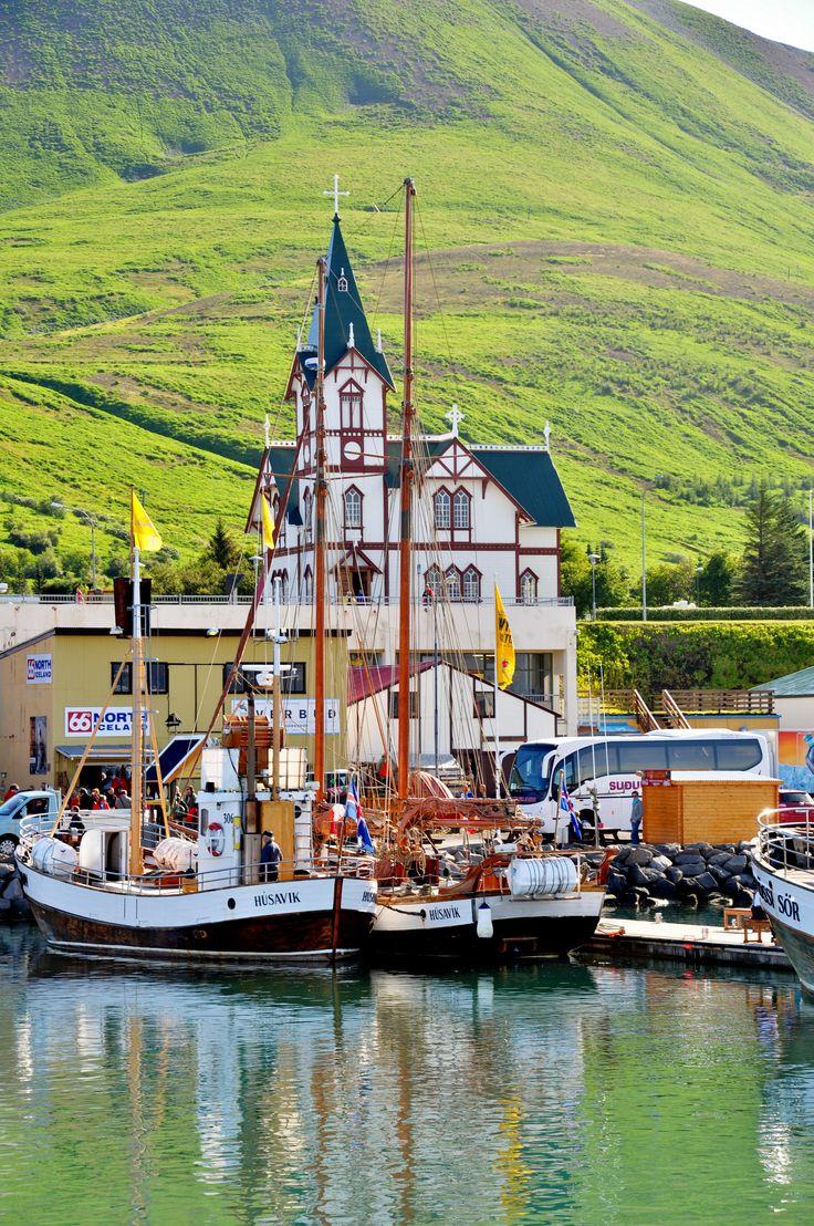 Husavik, whale watching capital! Iceland