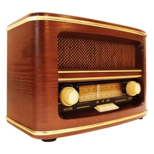 gpo winchester retro old fashioned vintage style 1950s mw fm radio in wood case radios models. Black Bedroom Furniture Sets. Home Design Ideas