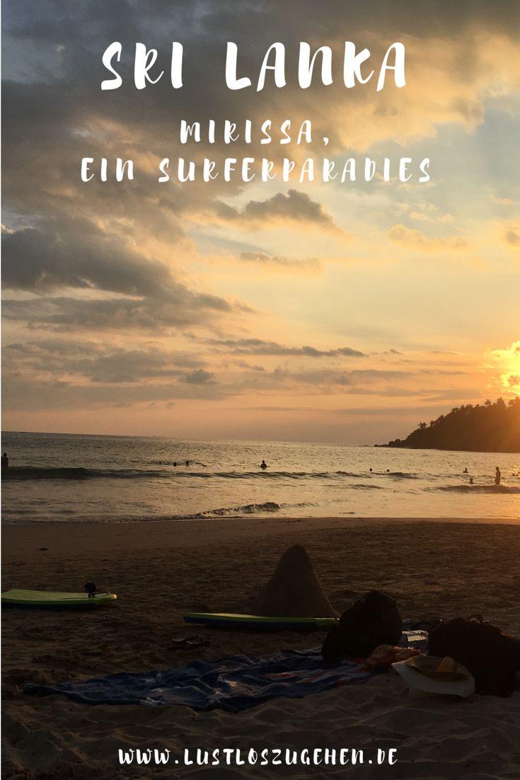 Im Süden findest du den Traum eines jeden Surfers - Zwischen Mirissa und Galle gibt es jede Menge zu erleben, natürlich nicht nur für Surfer. #srilanka #surfen #mirissa #galle