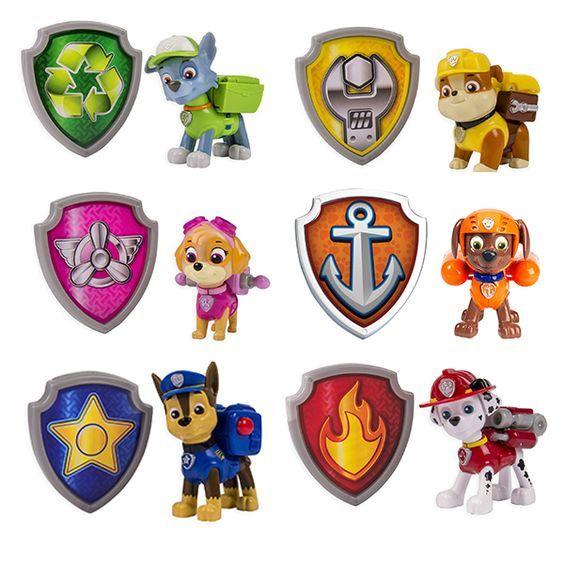 Paw Patrol Badges Related Keywords & Suggestions - Paw Patrol ...