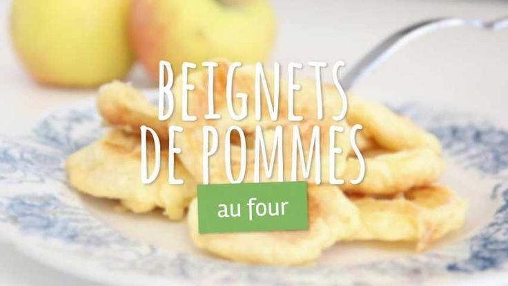 Recette de Beignets de pomme au four . Facile et rapide à réaliser, goûteuse et diététique. Ingrédients, préparation et recettes associées.