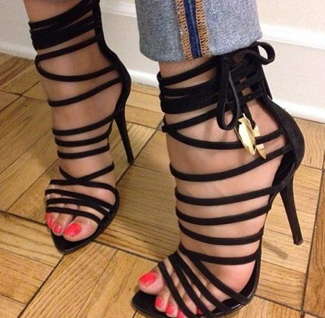Very sexy evening shoe, plus I love black!!! Yes mam, yes girl!!!