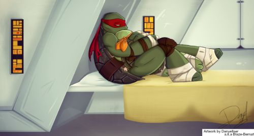 OP: Not sure if this is what will happen in the show but I like to think it will. Mikey obviously didn't handle it at all, I mean if you watch the scene when they are all around Splinters body you can hear Mikey crying. Broke my heart. So yeah I wanted to draw and finish this before the next season starts. | TMNT 2012