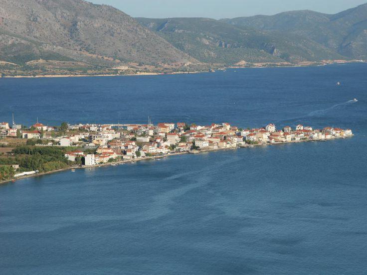 Mytikas village Aitoloakarnania Ionian coast