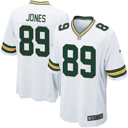 Nike Elite Green Bay Packers James Jones 89 White NFL Jersey for Sale Sale