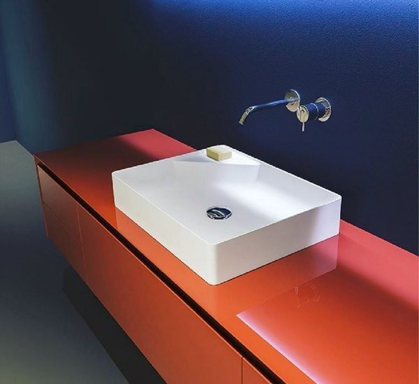 Antonio lupi simplo counter top wash basin wall mounted for Classic home designs collierville tn
