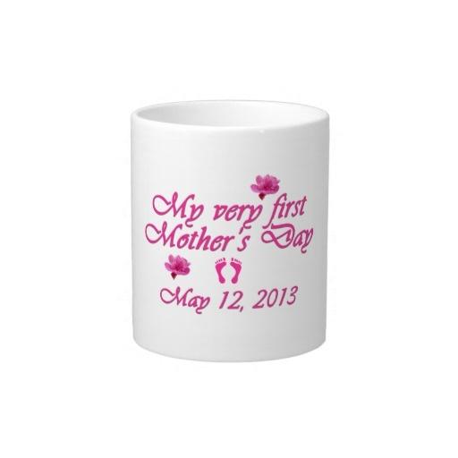 First Mother's Day 2013 Jumbo Mug