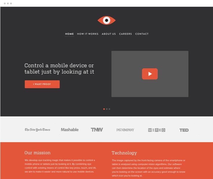 Great single scroll webshite - Mads Burcharth - Design & Illustration