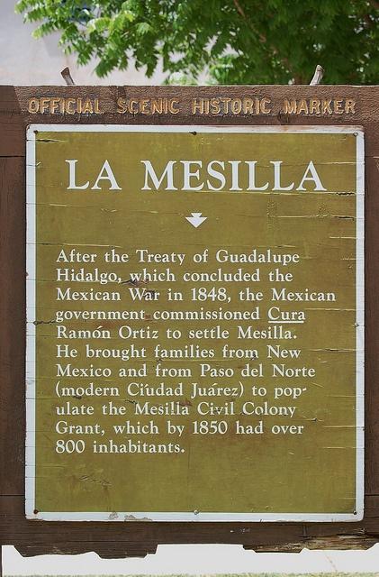 La Mesilla, New Mexico, Historic Marker by davev704, via Flickr