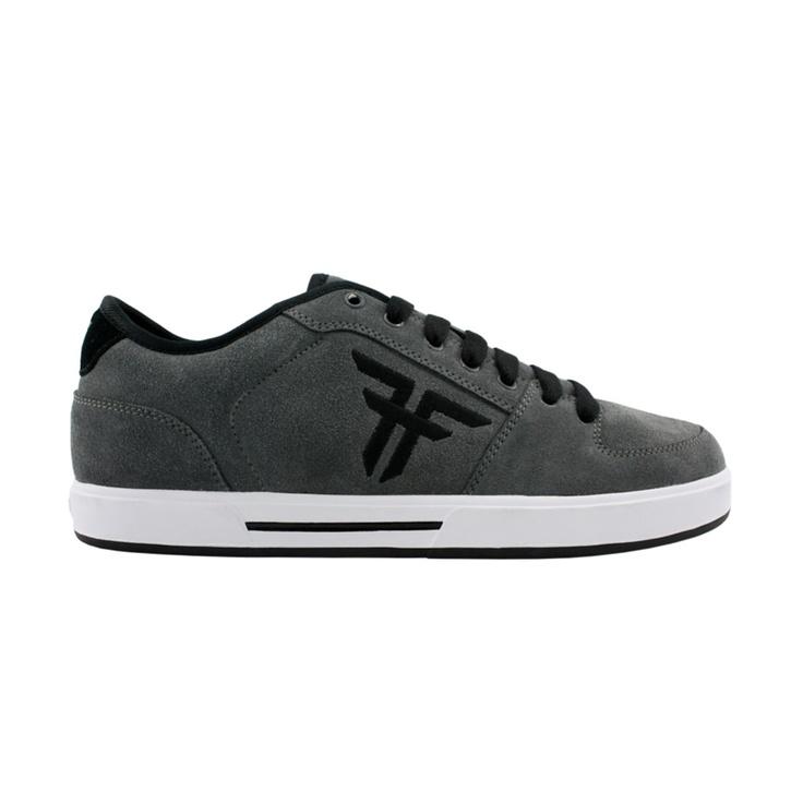 FALLEN Shoe PATRIOT 2 black grey red Schuh Sneaker