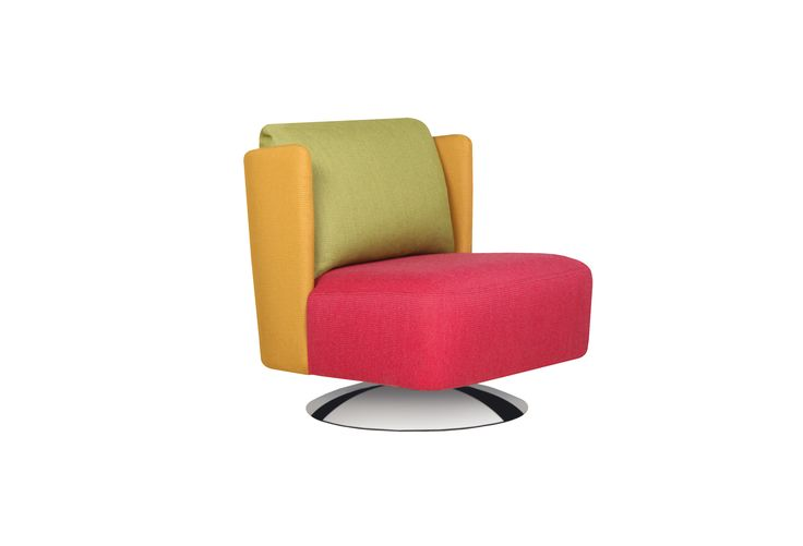 Sits Alma Button Back Swivel Chair