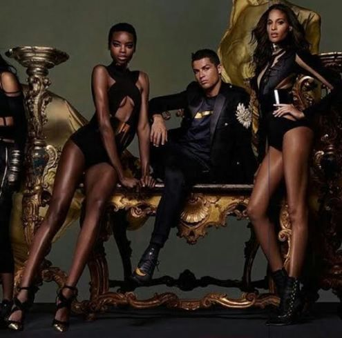 Cristiano Ronaldo teams up with French designer Olivier Rousteing and Nike in new photos - http://www.thelivefeeds.com/cristiano-ronaldo-teams-up-with-french-designer-olivier-rousteing-and-nike-in-new-photos/