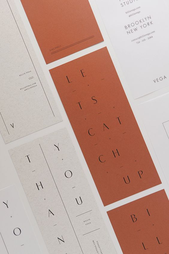 paper colors and material, serif typeface, good hierarchy, simple elemets