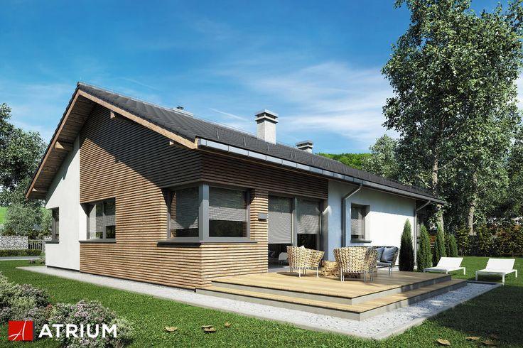 Projekt Minorka - elewacja domu