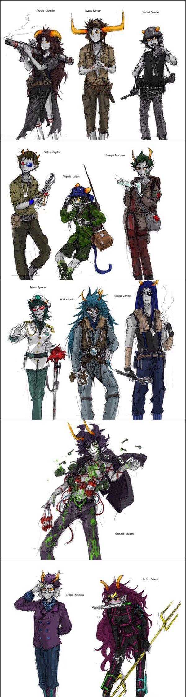 Trolls warrior style. I like it