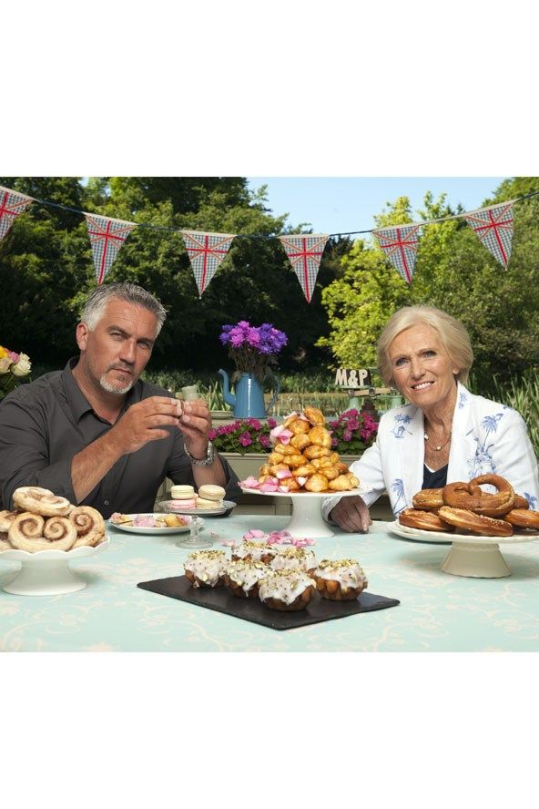 The Great British Bake-Off. love this programme even if it makes me stuff my face with cake and biscuits!!! <3