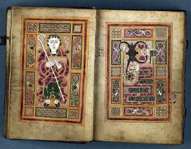 The Mac Durnan Gospels, a beautifully illustrated, but little known Irish manuscript.