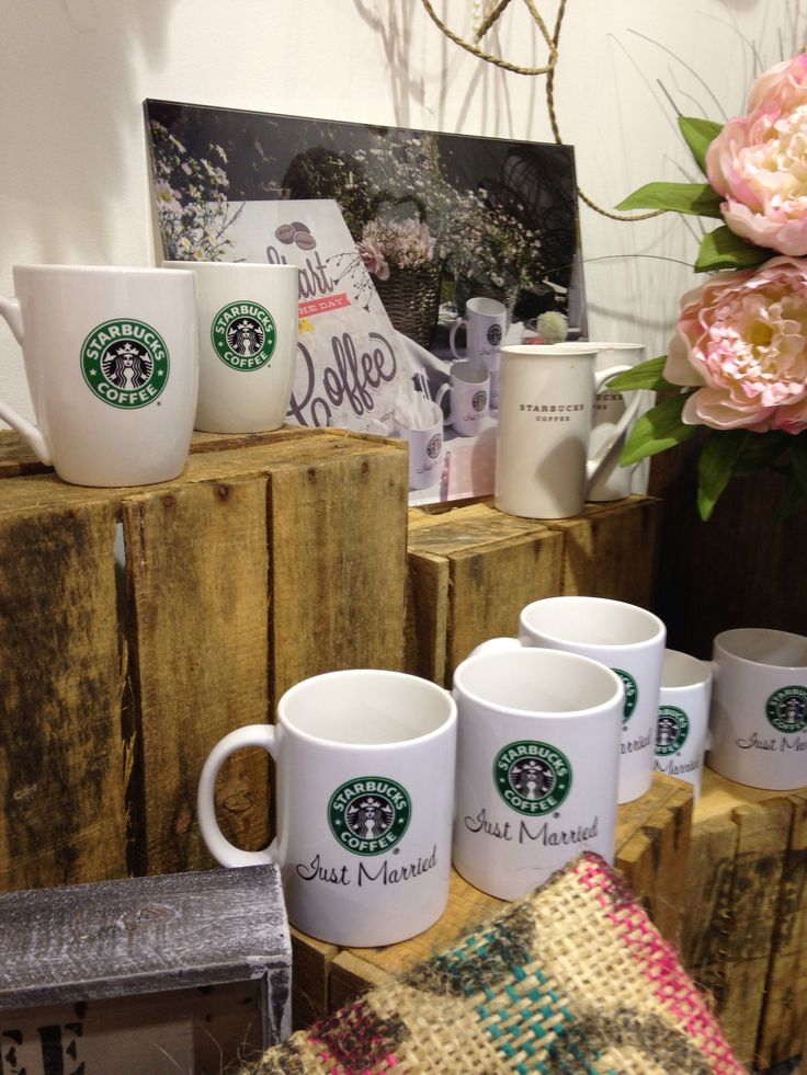 Our wedding day #starbucks #coffee #mug #starbuckswedding #wedding #angolocaffe