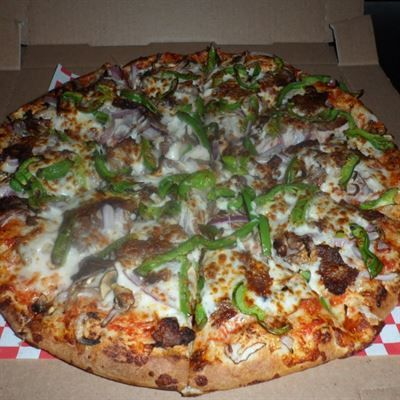 Fast and Easy Philly Cheesesteak Pizza | Recipe