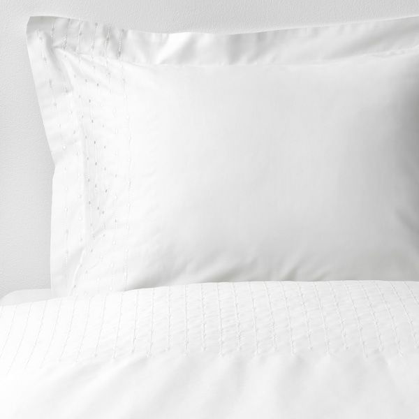 Praktviva Duvet Cover And Pillowcase S White King Ikea White Quilt Cover Duvet Covers Ikea Duvet Cover