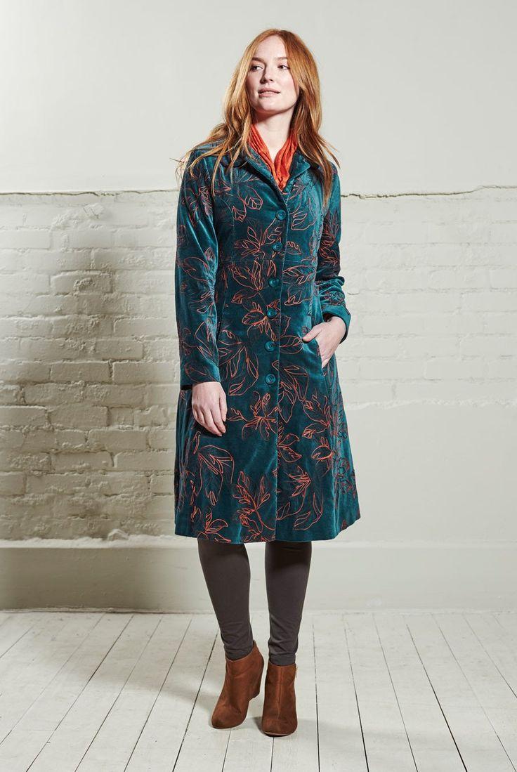 Nomads Clothing - Embroidered Velvet Coat