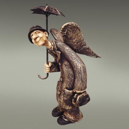 Кукольная скульптура «Петербургский ангел»