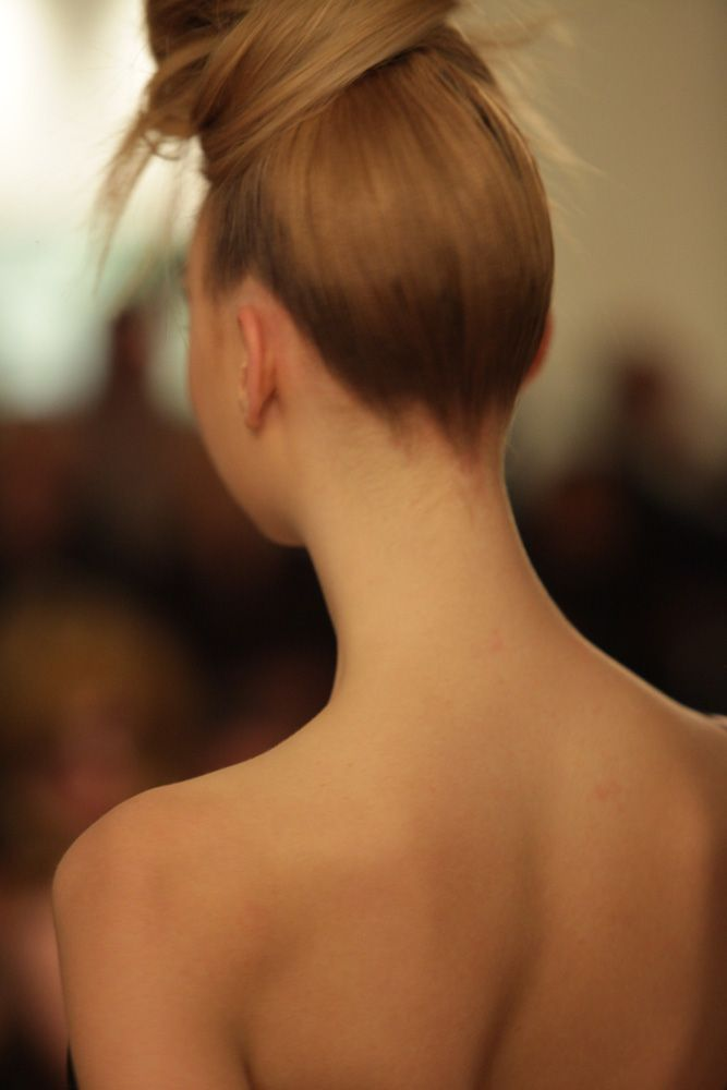 Check out that beautiful neck, AW2013 catwalk