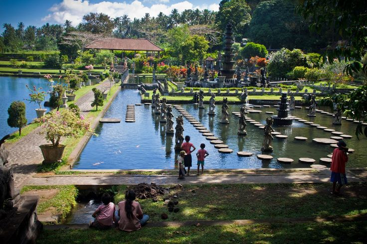 Bali is a home to most Hindu people. Therefore, you can find the Indian connection here too in form of Tirta Gangga which means the holy river Ganges' water. Located in Ababi, 83 kilometres from Denpasar, Tirta Gangga's water is treated as holy water and is used during religious ceremonies and rituals. This beautiful park houses a pond with clean and cool water and a fountain. There are a few hotels and resorts for accommodation.