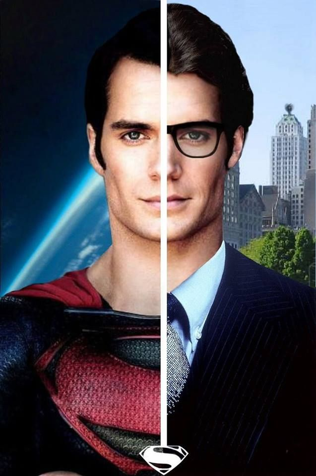 Superman / Clark Kent @Jennifer Alcorn  Okay so this is one Superman I can get behind the lusting of. He is HAWT!