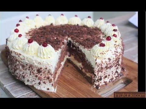 18 best recettes cuisine en vid o images on pinterest - Herve cuisine foret noire ...